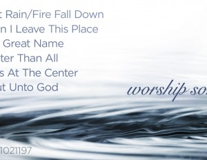 Worship Songs from Nov. 17-18