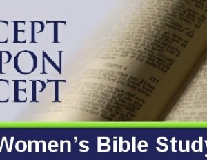 You Are Invited to Join the Women's Precepts Bible Study!