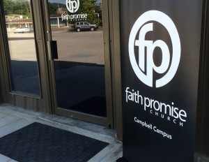 Weather damage means locale change for Faith Promise Campbell Campus