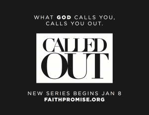 Called Out Series Begins This Weekend!