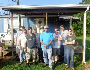 Blount Small Group Serves with the United Way RED Program